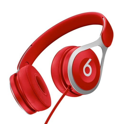 Beats EP Wired On-Ear Red Headphones