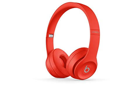 Beats Solo3 Wireless On-Ear Red Colored Headphone