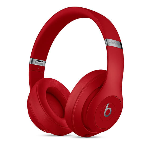 Beats Studio3 Red Wireless Headphones