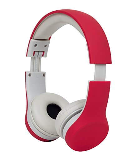Snug Play+ Kids Red Headphone