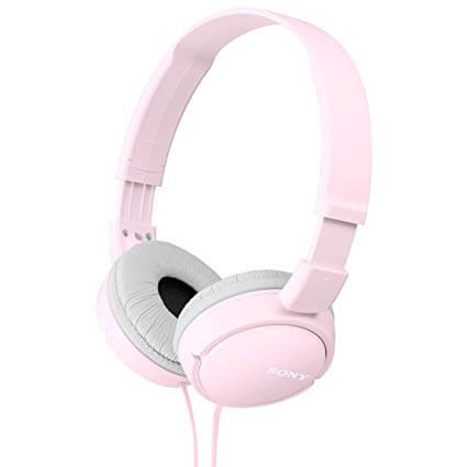 Sony Dynamic Foldable MDR-ZX110-P Pink Headphones