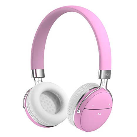 Tribit XFree Move Wireless pink Headphones for Girls