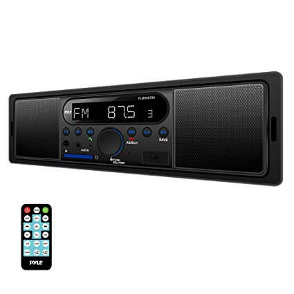Pyle PLMR8BTBK Bluetooth Stereo Radio Kit