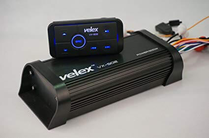 Velex Water resistant Bluetooth Marine 4 Channel Class A-B Amplifier
