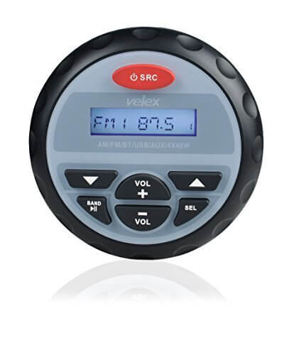 Velex Waterproof Bluetooth AM FM Golfing Radio kit