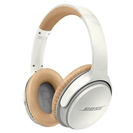Bose SoundLink II Around Ear Wireless White Headphone