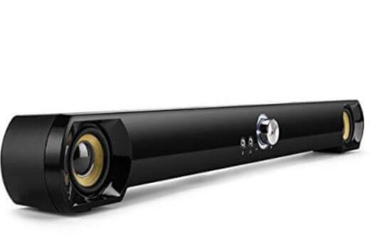 Saxhorn Mini Soundbar Speaker for Computer