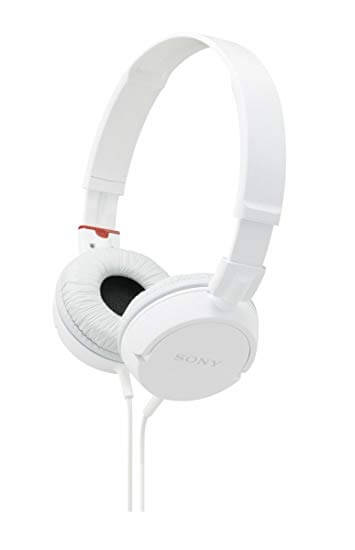 Sony MDRZX100p ZX Series Stereo White Headphone