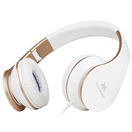 Sound Intone I65 White Headphone