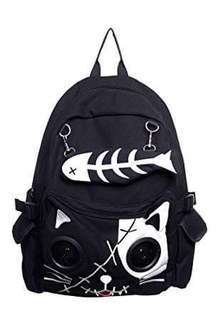 Banned Kitty Speaker Backpack
