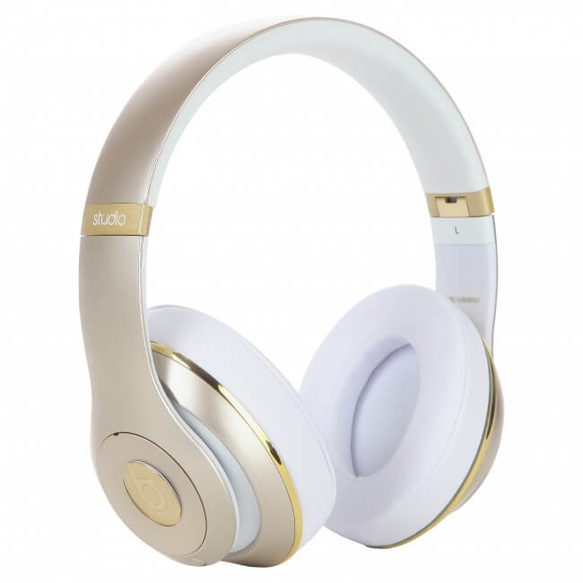 Beats Studio 2.0 Wireless Over-the-Ear Gold Headphone