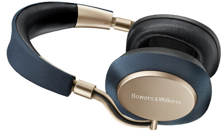 Bowers & Wilkins PX Active Noise Cancelling Wireless Golden Headphones