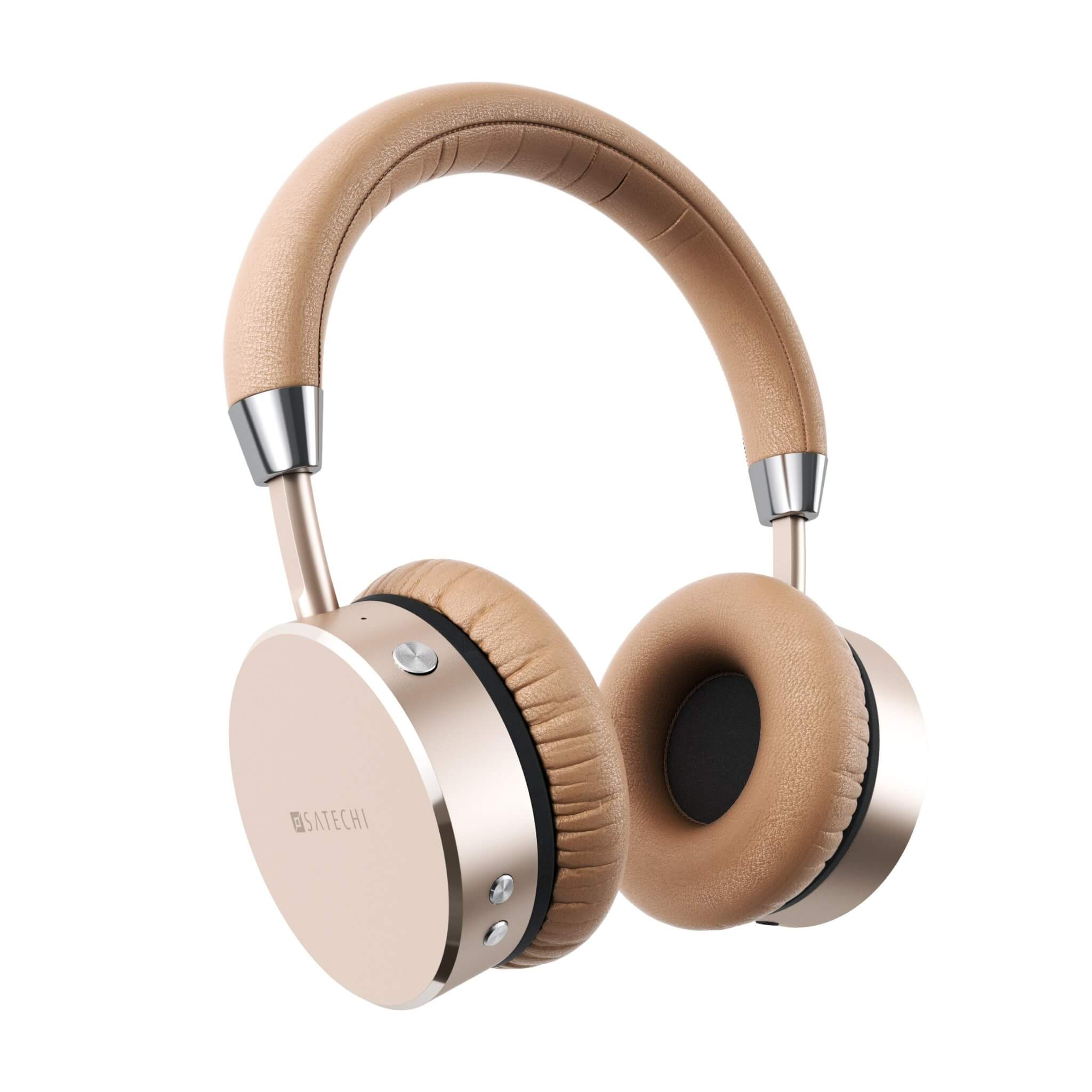 Satechi Aluminum Bluetooth Wireless Gold Headphone