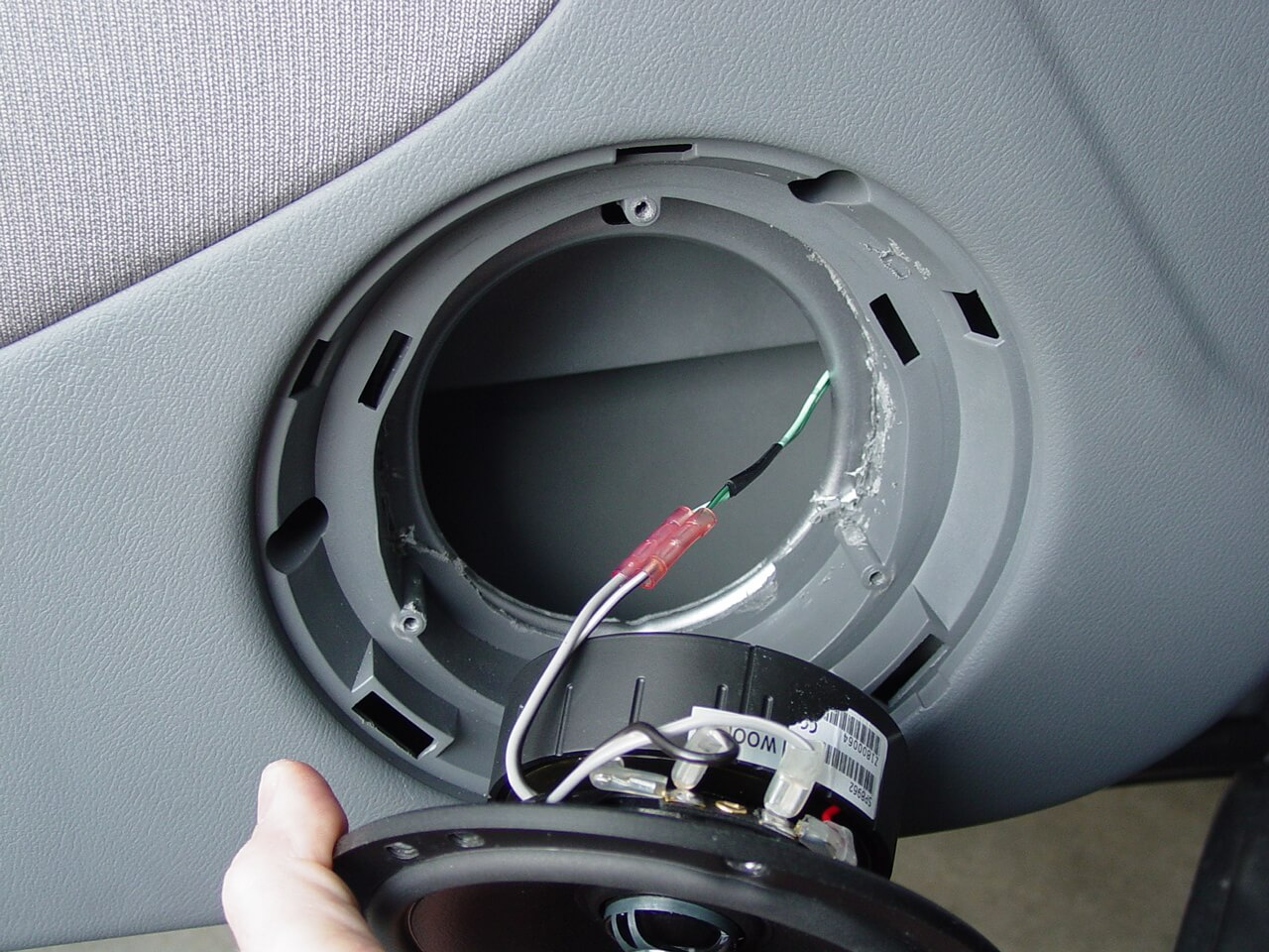 car speaker installation