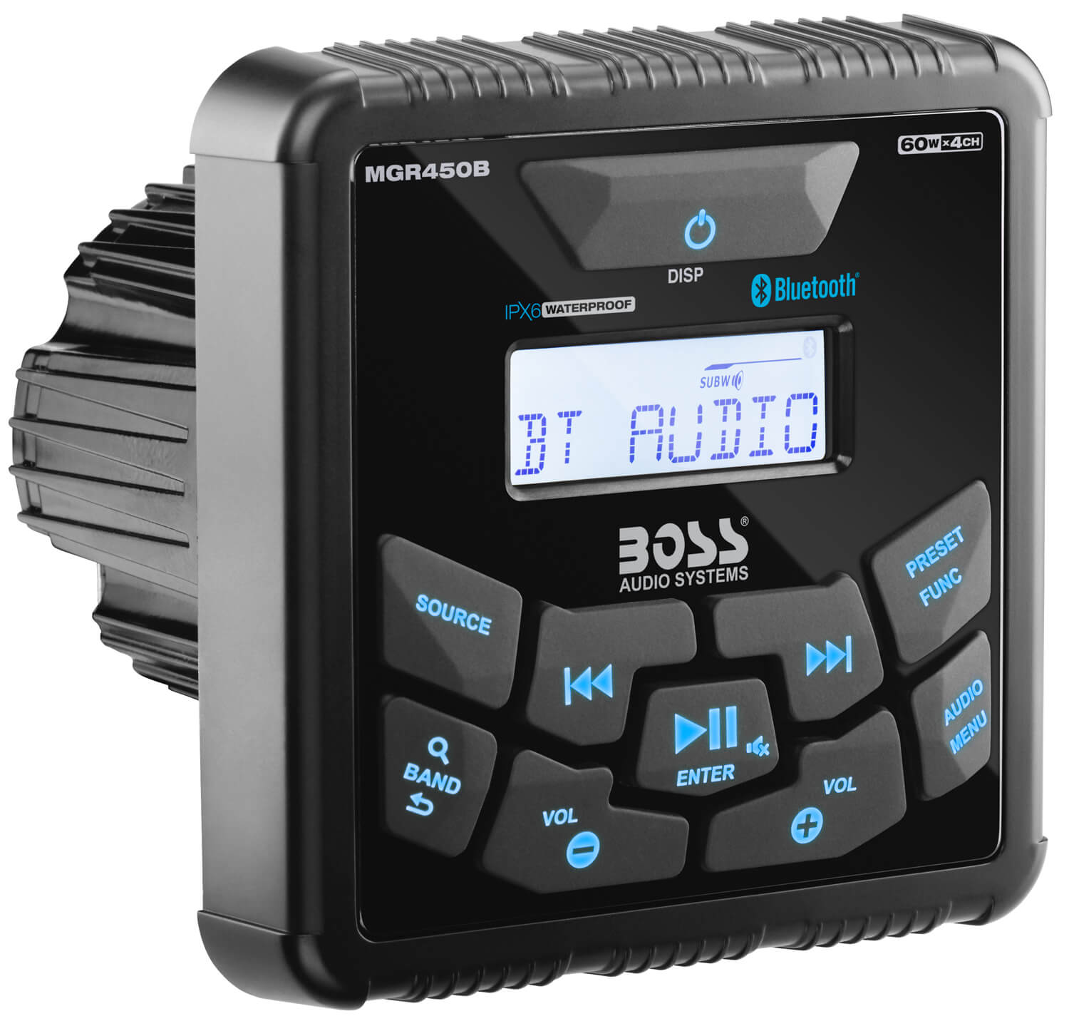 Boss Audio Systems MGR450B in-Dash UTV Radio
