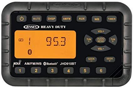 Jensen JHD910BT Bluetooth Mini UTV Radio