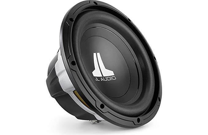 JL Audio 10 inch Single 4-Ohm W0V3 Series Car Subwoofer