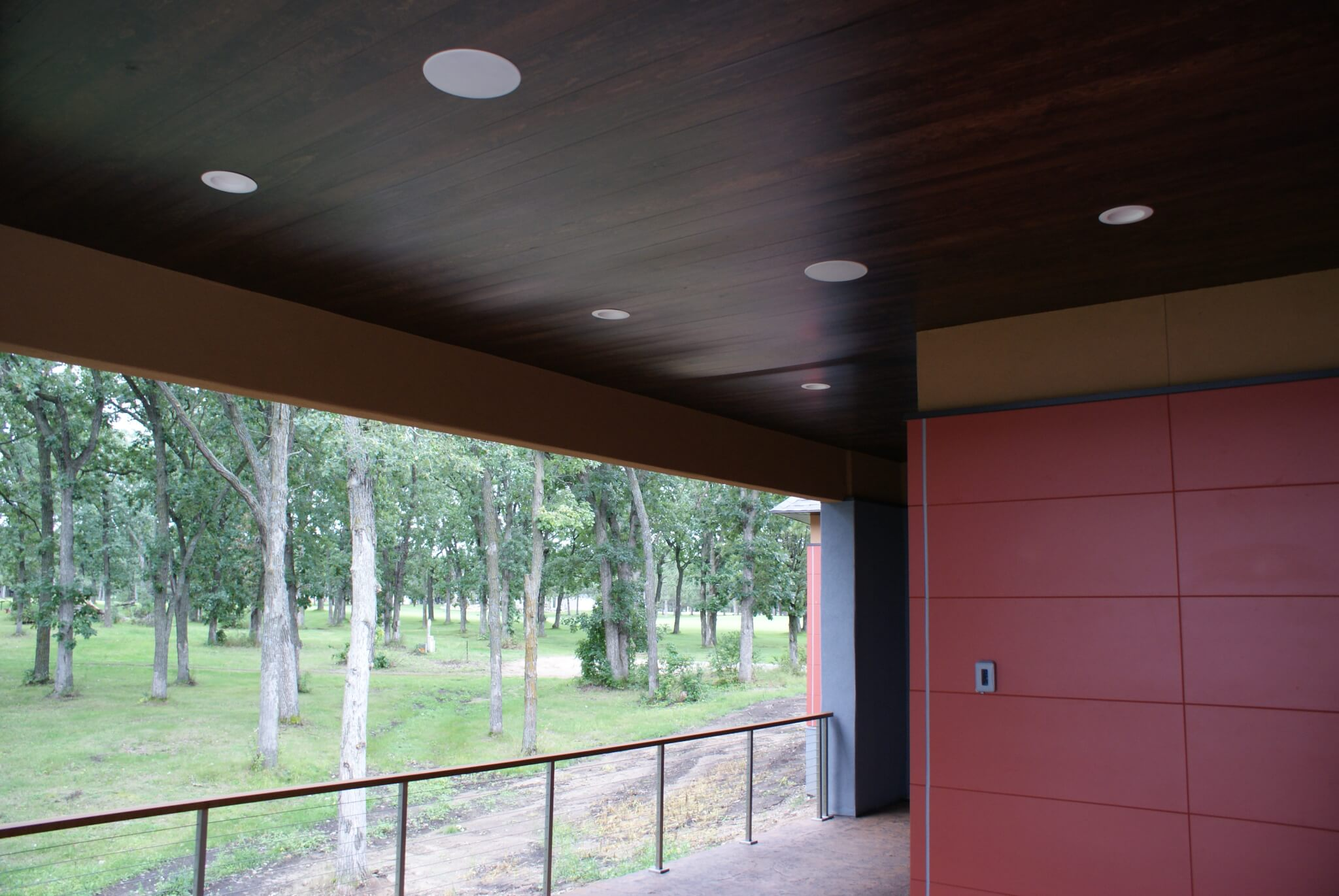 Patio in-ceiling speaker