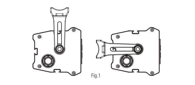 L-Brackets for Powerbass XL-1200