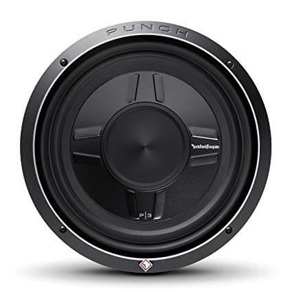 Rockford Fosgate P3SD4-10 Punch P3S 10Inch 4-Ohm DVC Shallow Mount Subwoofer