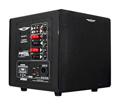 Earthquake Sound MiniMe P8 Passive Tuned Mini Subwoofer