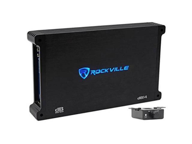 Rockville 4000 Watt 1000w RMS Mono Class D 2 Ohm Amplifier Car Audio Amp (dB14)