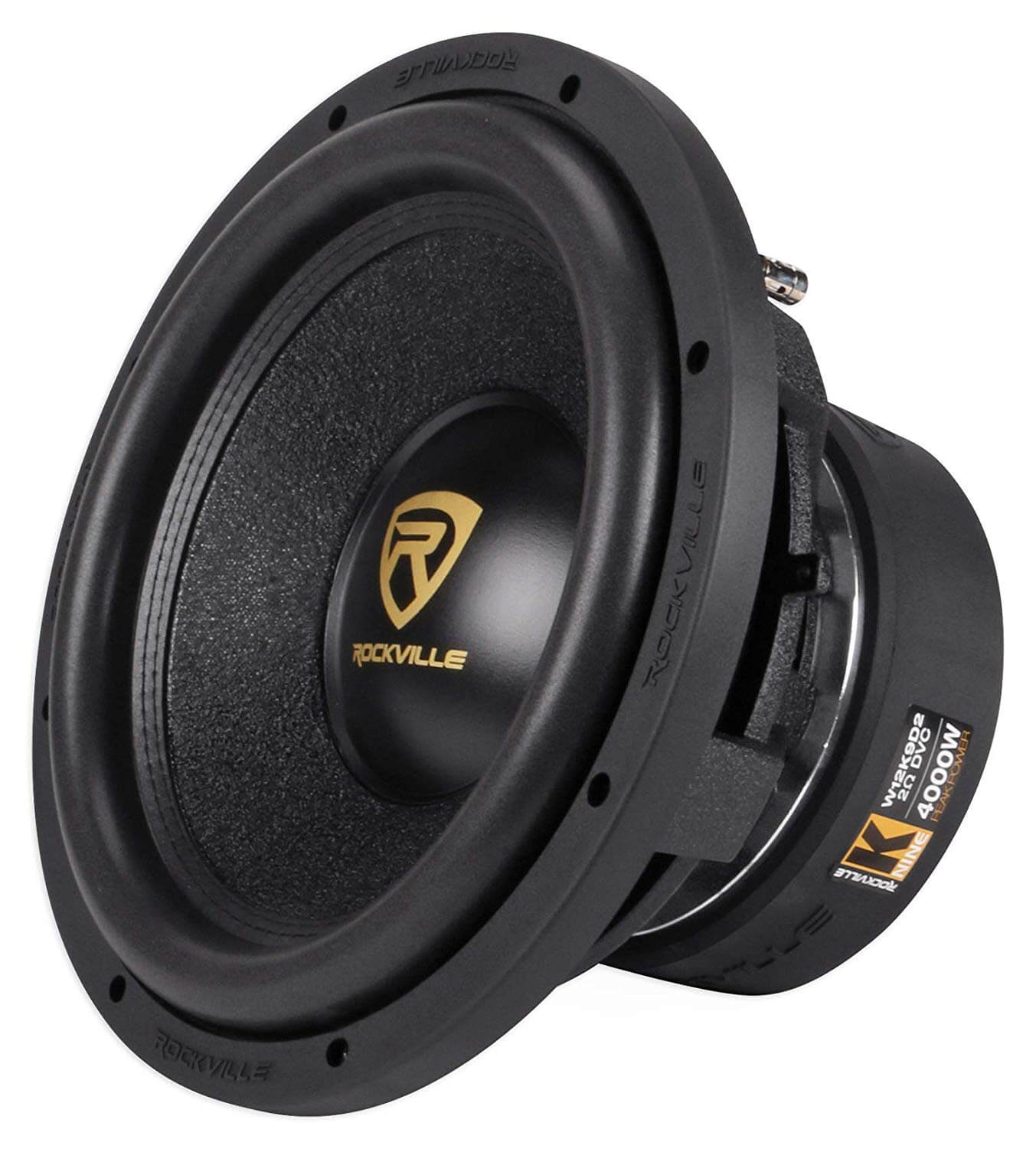 Rockville W12K9D2 12 inch Competition Audio Subwoofer