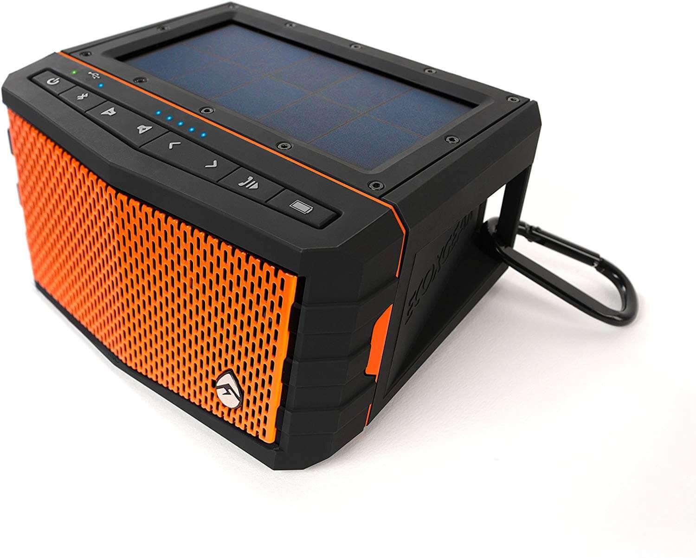Ecoxgear Sol Jam Solar Powered Bluetooth Speaker