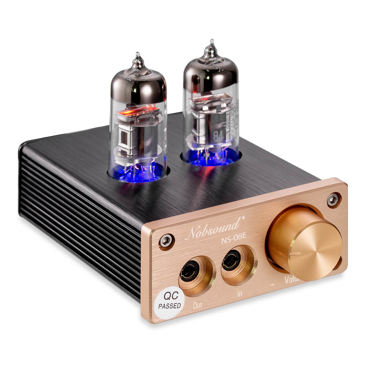 Nobsound NS-08E Vacuum Tube Headphone Amplifier Hi-Fi Valve Headphone Amp Stereo Audio Preamplifier