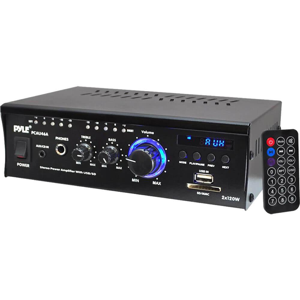 Pyle Audio PCAU46A Home Audio Power Amplifier System