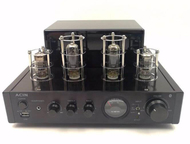 Stereo Hybrid Tube Amplifier By ACIN