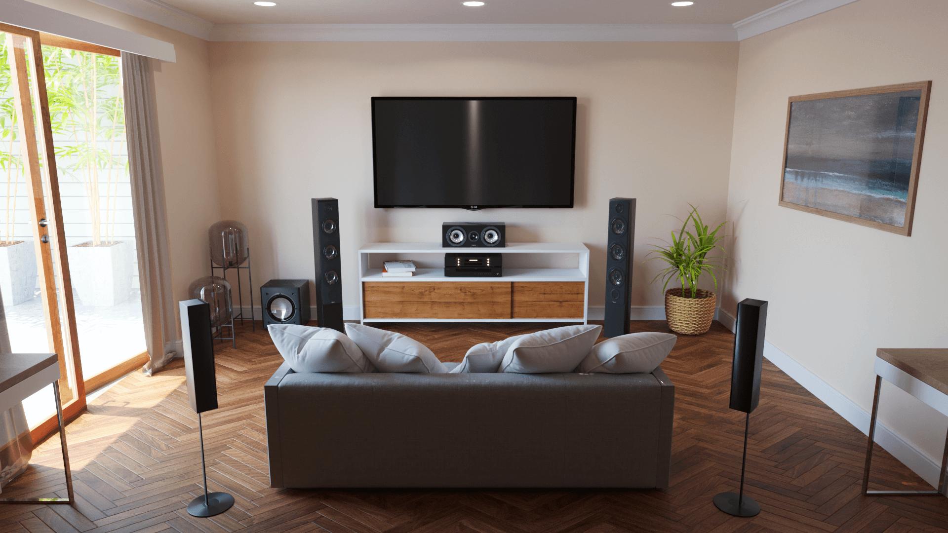 5.1 Surround Sound System Setup & Guide