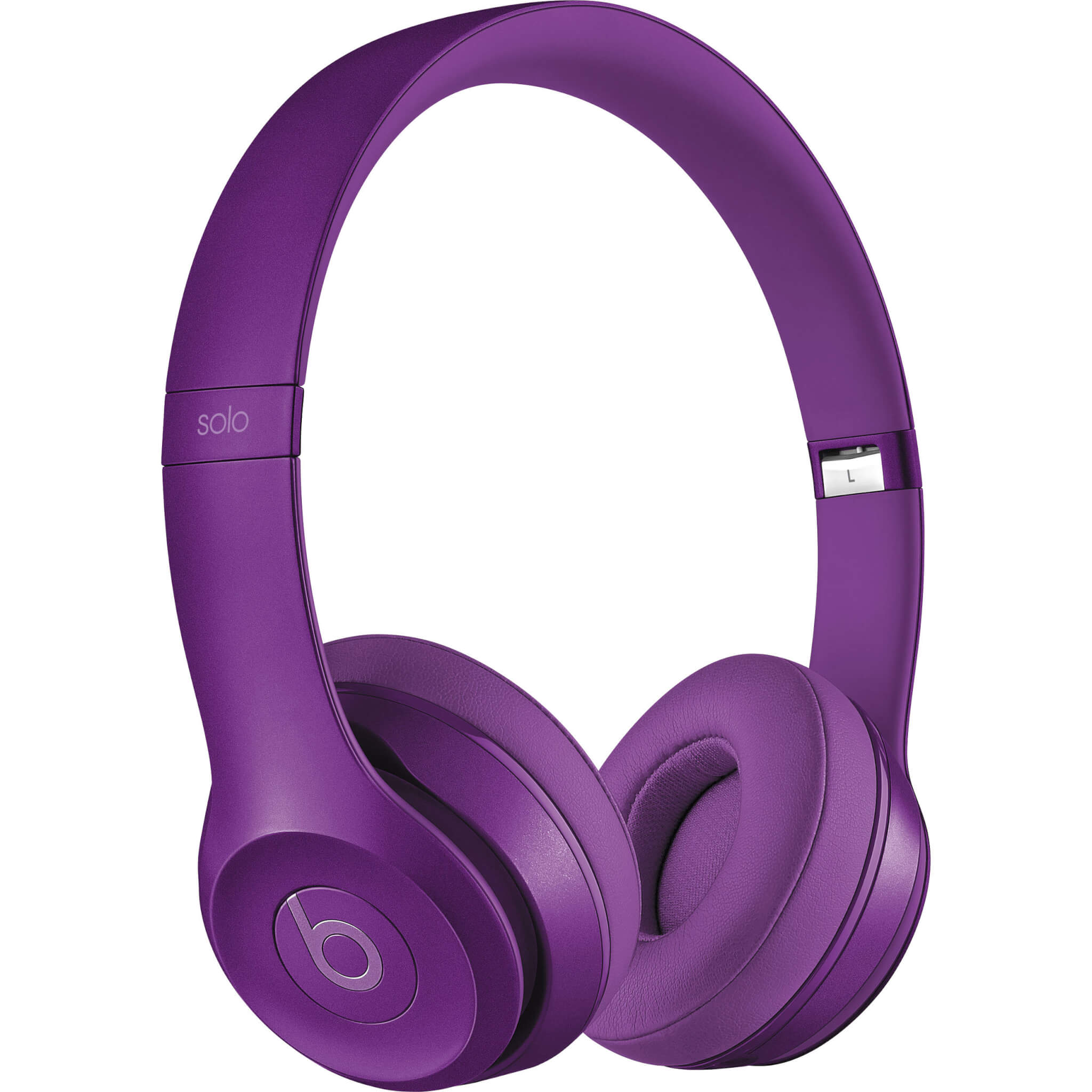 Beats Solo2 Wired On-Ear Purple Colored Headphone