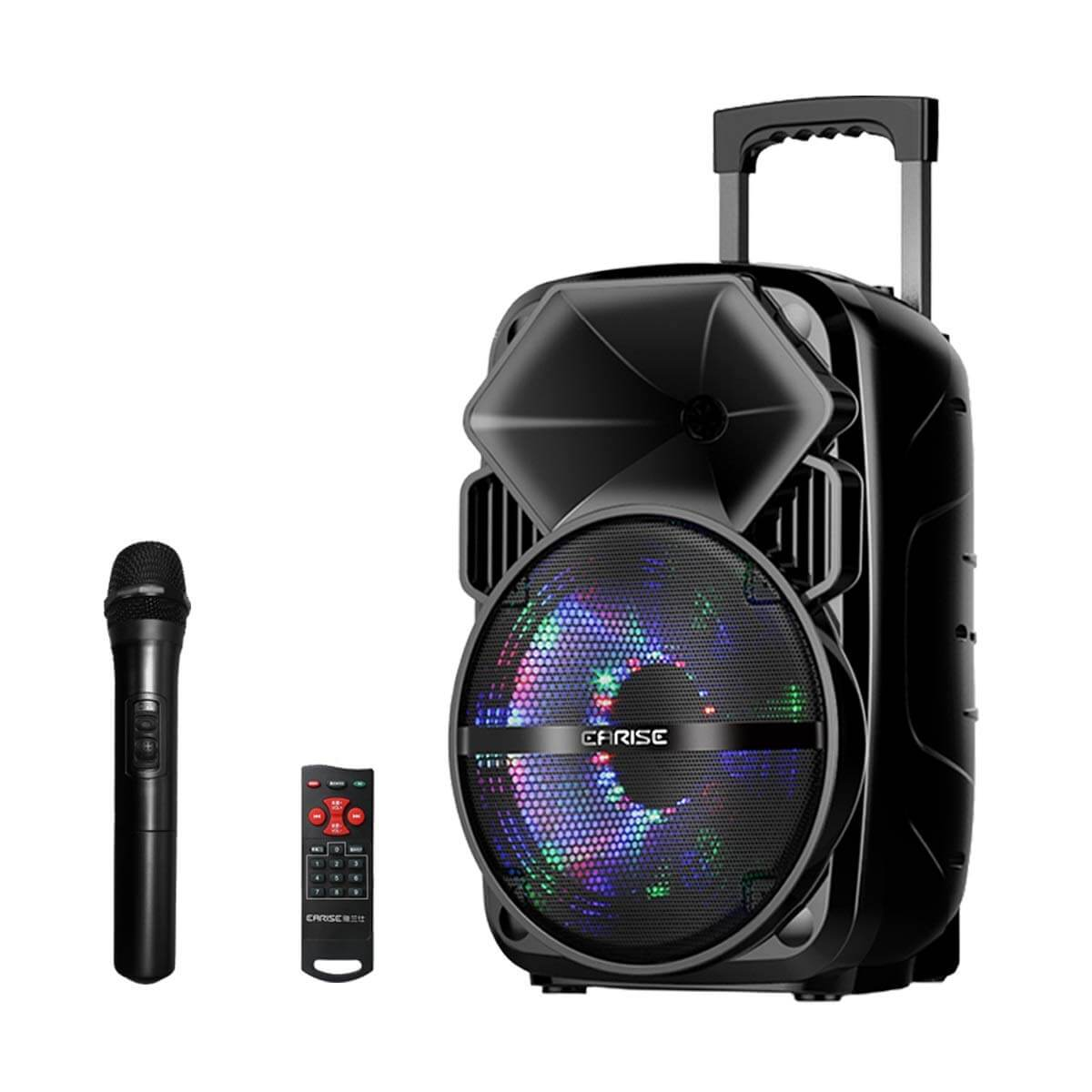 EARISE V30 Big Bluetooth Speaker System with Karaoke and Wireless Microphone