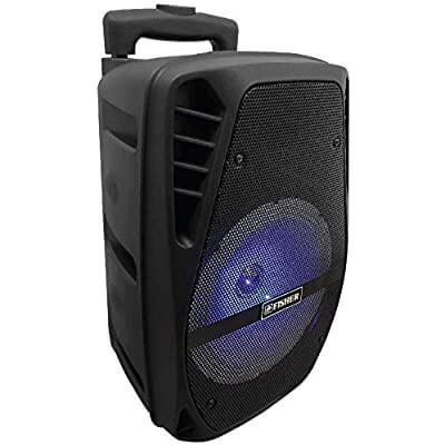 Fisher FBX818 Portable Speaker System with Wired Microphone