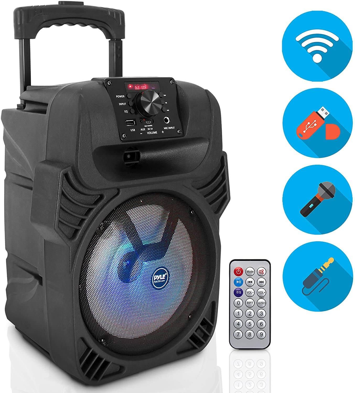 Pyle PPHP844B Portable Bluetooth PA Loudspeaker