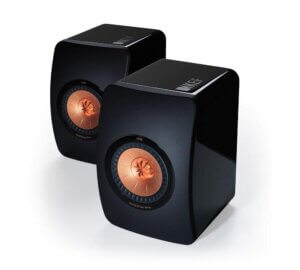 KEF LS50 Mini Monitor Bookshelf Speakers